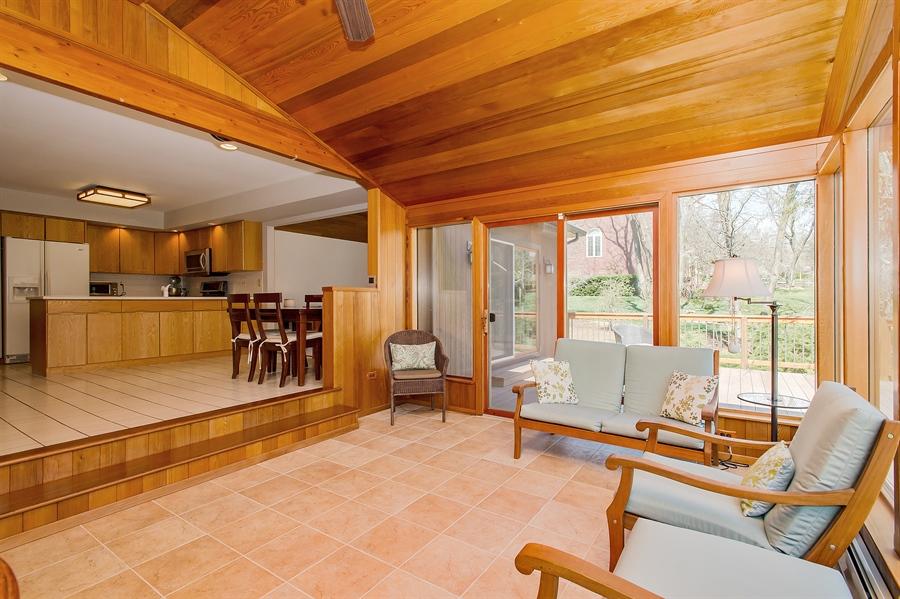 Real Estate Photography - 1066 Mayflower Ct, Martinsville, NJ, 08836 - Sun Room