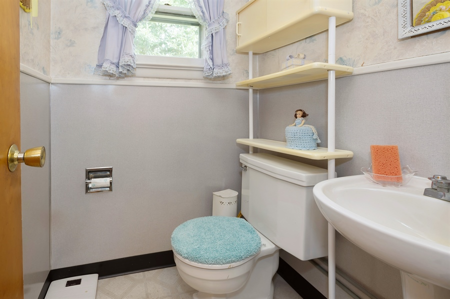 Real Estate Photography - 202 Route 526, Upper Freehold, NJ, 08501 - Half Bath