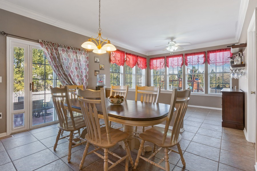 Real Estate Photography - 8 Liberty Ct, Allentown, NJ, 08501 - Breakfast Area