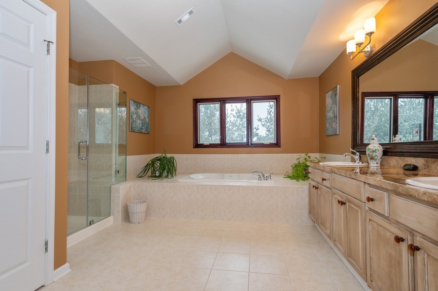 Real Estate Photography - 9 Wagner Farm Lane, Millstone Twp, NJ, 08535 - Master Bathroom