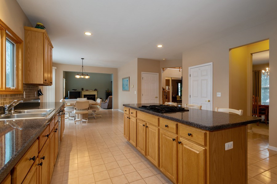 Real Estate Photography - 9 Wagner Farm Lane, Millstone Twp, NJ, 08535 - Kitchen / Breakfast Room