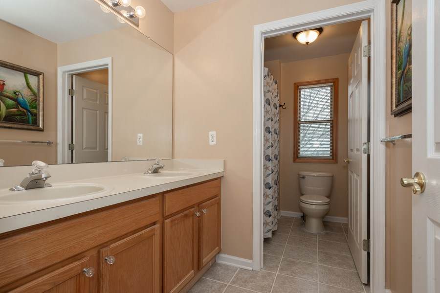 Real Estate Photography - 9 Wagner Farm Lane, Millstone Twp, NJ, 08535 - 2nd Bathroom