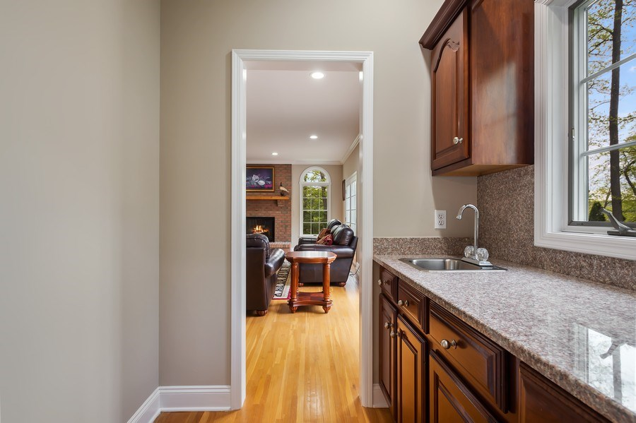 Real Estate Photography - 26 Winslow Dr, Martinsville, NJ, 08836 - Butler's pantry
