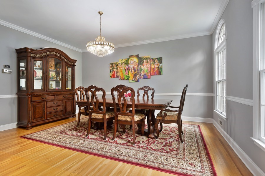 Real Estate Photography - 26 Winslow Dr, Martinsville, NJ, 08836 - Dining Room
