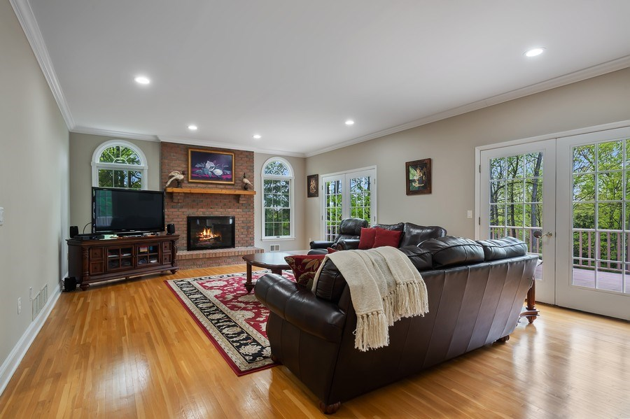 Real Estate Photography - 26 Winslow Dr, Martinsville, NJ, 08836 - Family Room