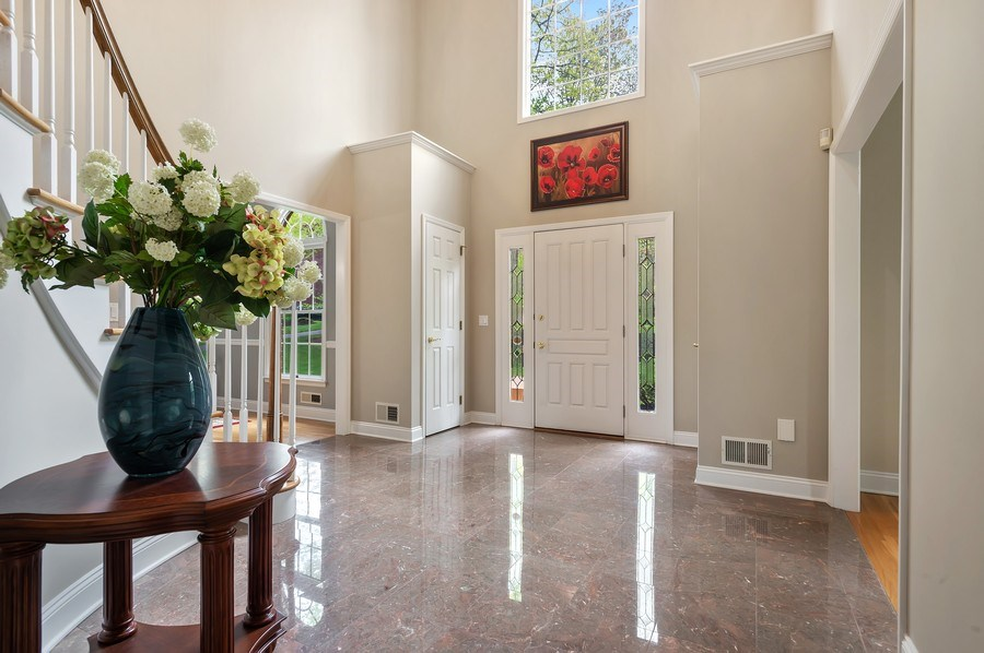 Real Estate Photography - 26 Winslow Dr, Martinsville, NJ, 08836 - Foyer