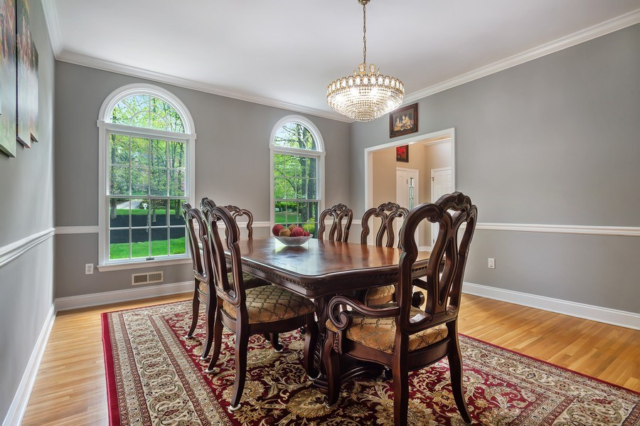 Real Estate Photography - 26 Winslow Dr, Martinsville, NJ, 08836 - Dining Area