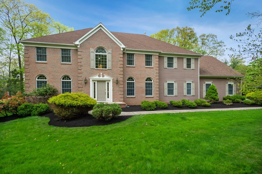 Real Estate Photography - 26 Winslow Dr, Martinsville, NJ, 08836 - Front View