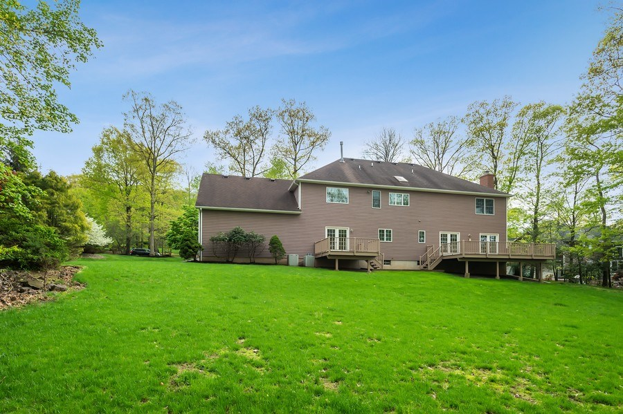 Real Estate Photography - 26 Winslow Dr, Martinsville, NJ, 08836 - Rear View