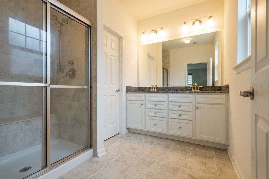 Real Estate Photography - 36 Mallard Ct, Howell, NJ, 07731 - Master Bathroom