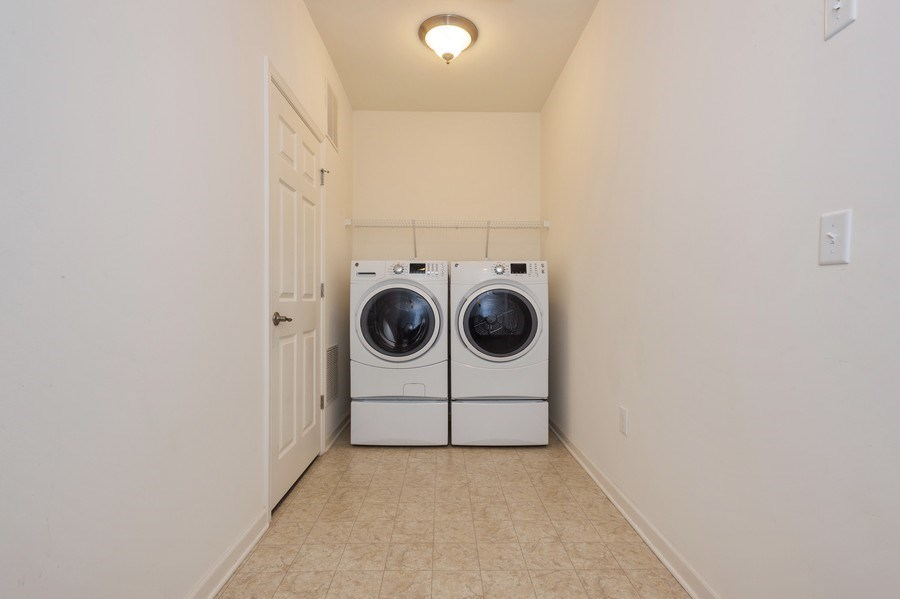 Real Estate Photography - 36 Mallard Ct, Howell, NJ, 07731 - Laundry Room