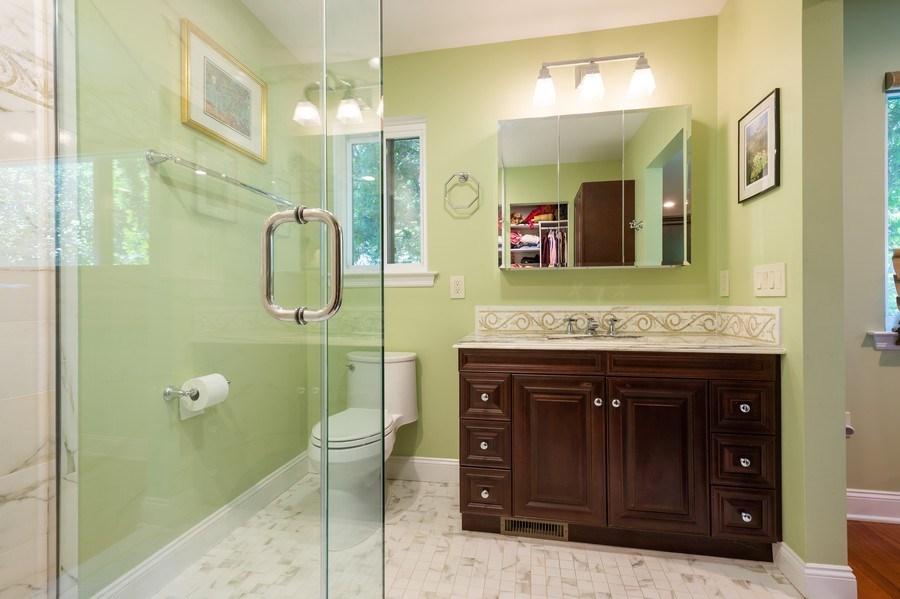 Real Estate Photography - 77 Glenview Dr, West Orange, NJ, 07052 - Master Bathroom