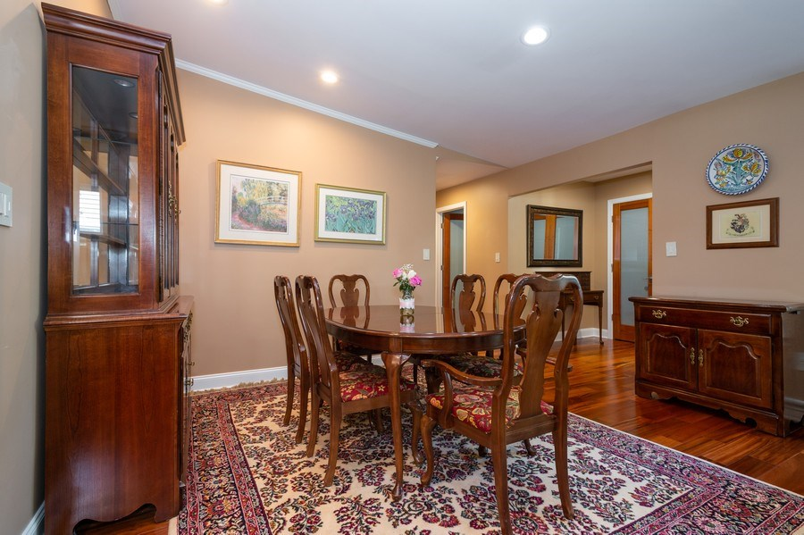 Real Estate Photography - 77 Glenview Dr, West Orange, NJ, 07052 - Dining Room