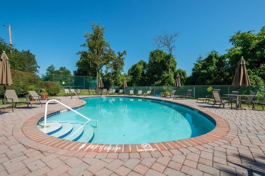 Real Estate Photography - 77 Glenview Dr, West Orange, NJ, 07052 - Pool