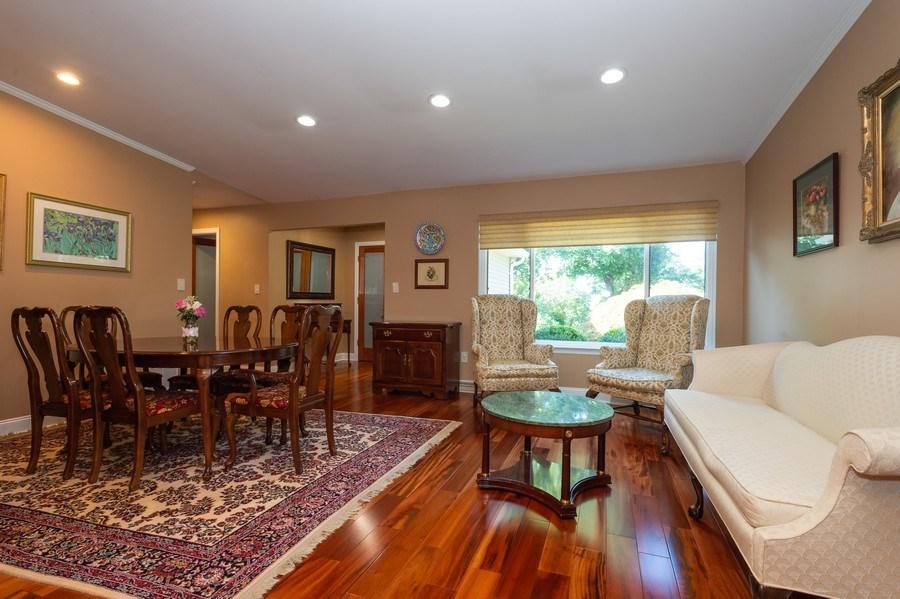 Real Estate Photography - 77 Glenview Dr, West Orange, NJ, 07052 - Living Room/Dining Room