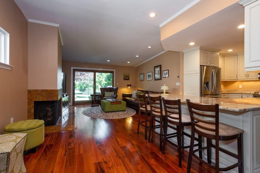 Real Estate Photography - 77 Glenview Dr, West Orange, NJ, 07052 - Family Room / Kitchen