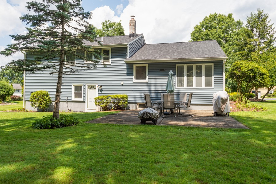 Real Estate Photography - 13 Clover Lane, Livingston, NJ, 07039 - Rear View