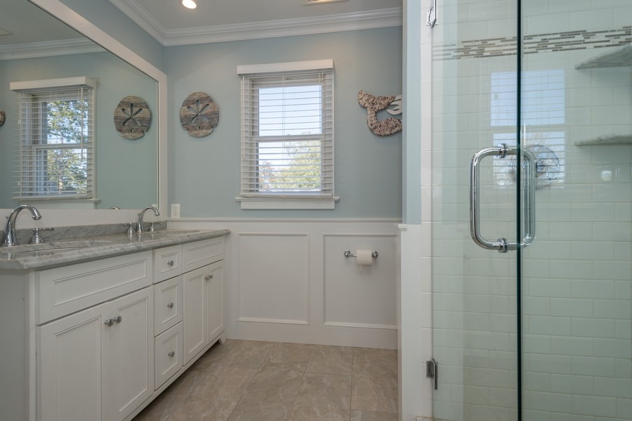 Real Estate Photography - 2327 Dellwood Dr., Point Pleasant Boro, NJ, 08742 - Master Bathroom