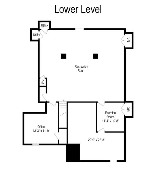 Real Estate Photography - 69 Autumn Ridge Road, Bedminster, NJ, 07921 - Floor Plan
