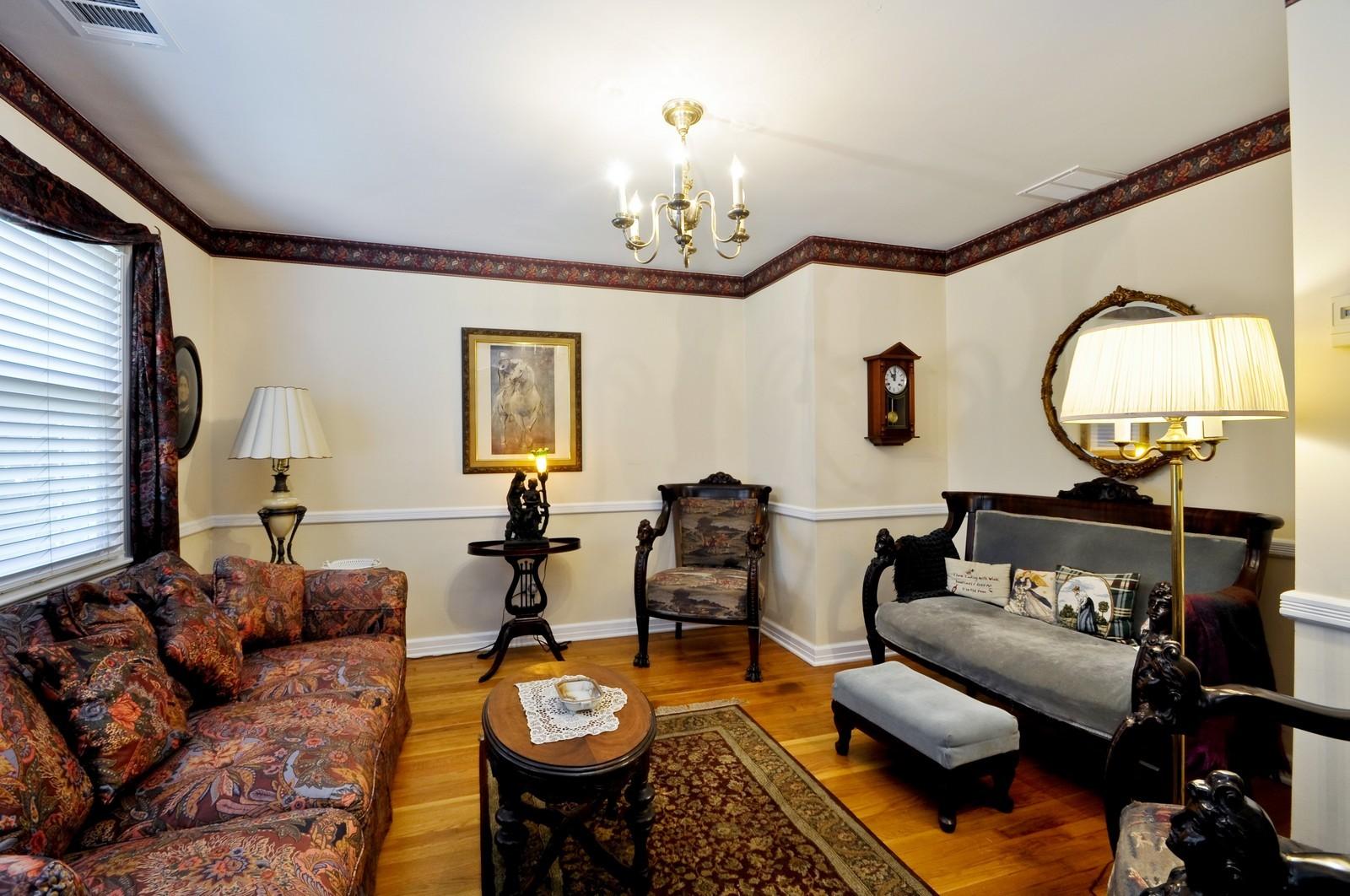 Real Estate Photography - 19 Ridge Road, Roseland, NJ, 07068 - Living Room