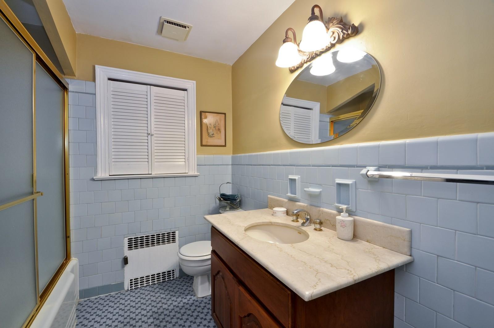 Real Estate Photography - 19 Ridge Road, Roseland, NJ, 07068 - Master Bathroom