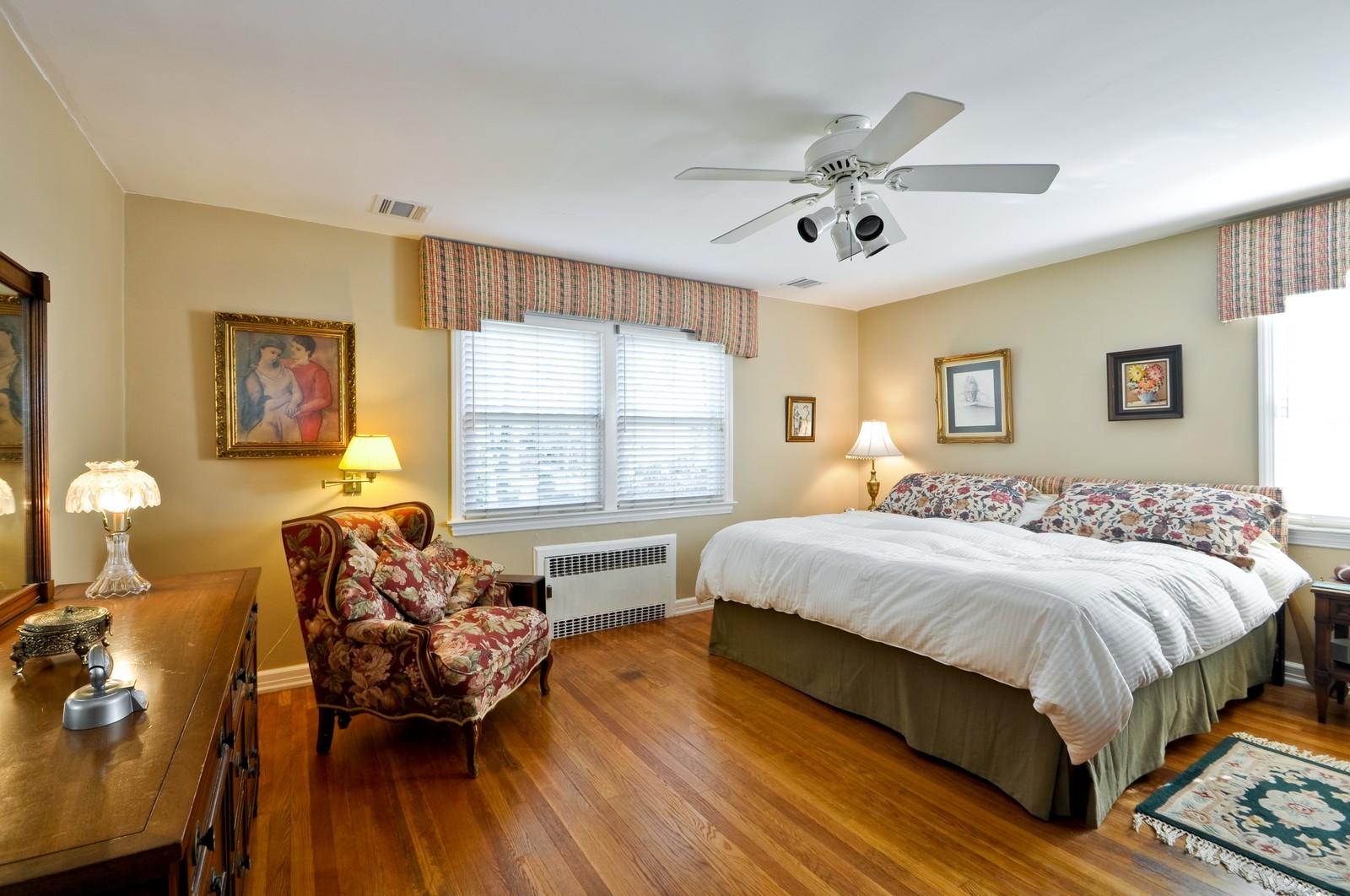 Real Estate Photography - 19 Ridge Road, Roseland, NJ, 07068 - Master Bedroom