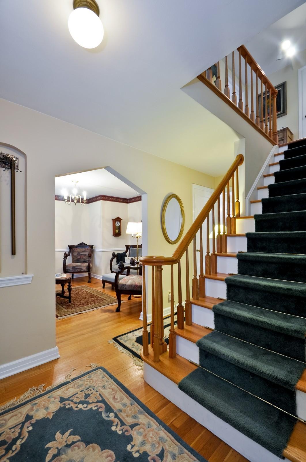 Real Estate Photography - 19 Ridge Road, Roseland, NJ, 07068 - Foyer