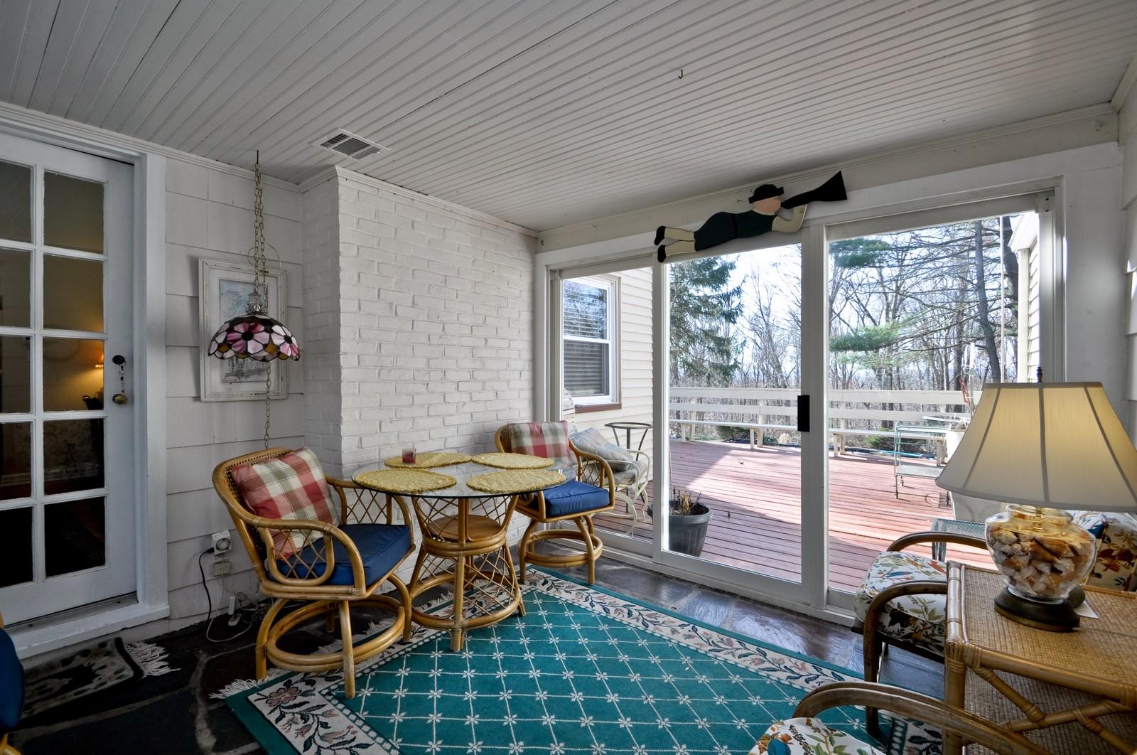 Real Estate Photography - 19 Ridge Road, Roseland, NJ, 07068 - Sun Room
