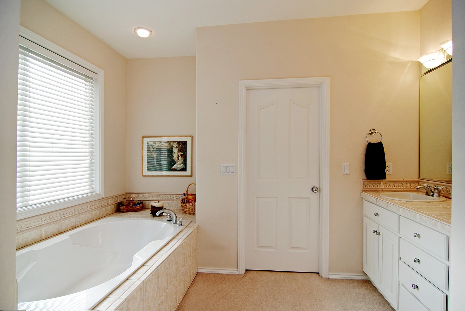 Real Estate Photography - 22553 SW 106th Ave, Tualatin, OR, 97062 - Master Bathroom