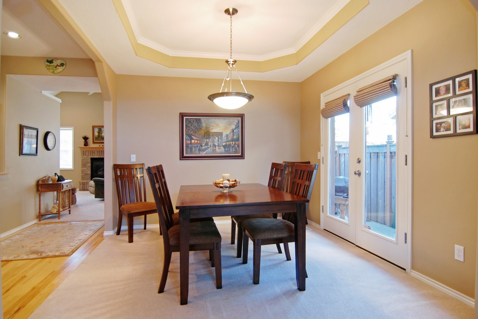 Real Estate Photography - 22553 SW 106th Ave, Tualatin, OR, 97062 - Dining Room