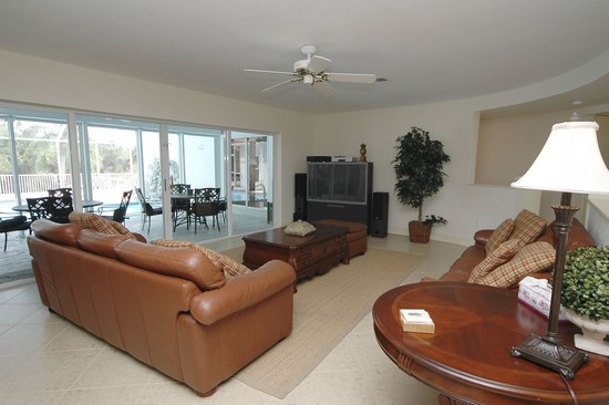 Real Estate Photography - 1901 Kirk Ter, Marco Island, FL, 34145 - Living Room