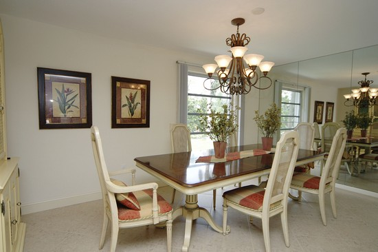 Real Estate Photography - 1901 Kirk Ter, Marco Island, FL, 34145 - Dining Room