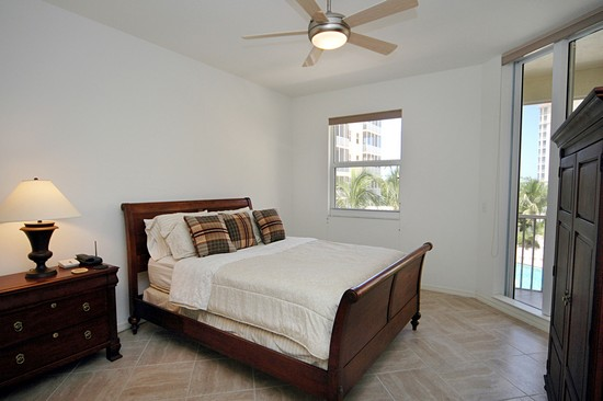 Real Estate Photography - 460 Launch Cir, Unit 302, Naples, FL, 34108 - Master Bedroom