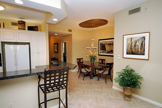 Real Estate Photography - 460 Launch Cir, Unit 302, Naples, FL, 34108 - Dining Room