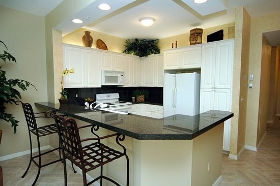 Real Estate Photography - 460 Launch Cir, Unit 302, Naples, FL, 34108 - Kitchen