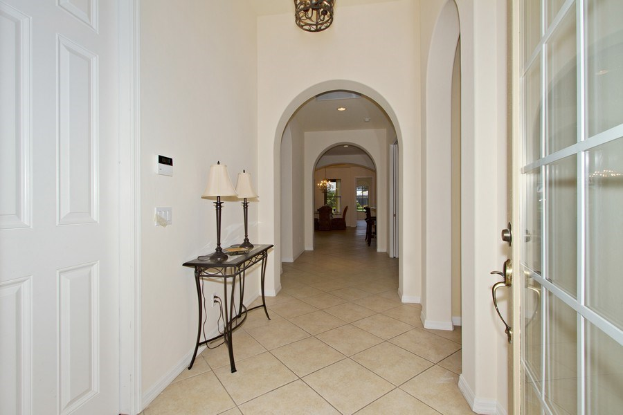 Real Estate Photography - 10691 LONGSHORE WAY EAST, NAPLES, FL, 34119 - Foyer / Vestibule