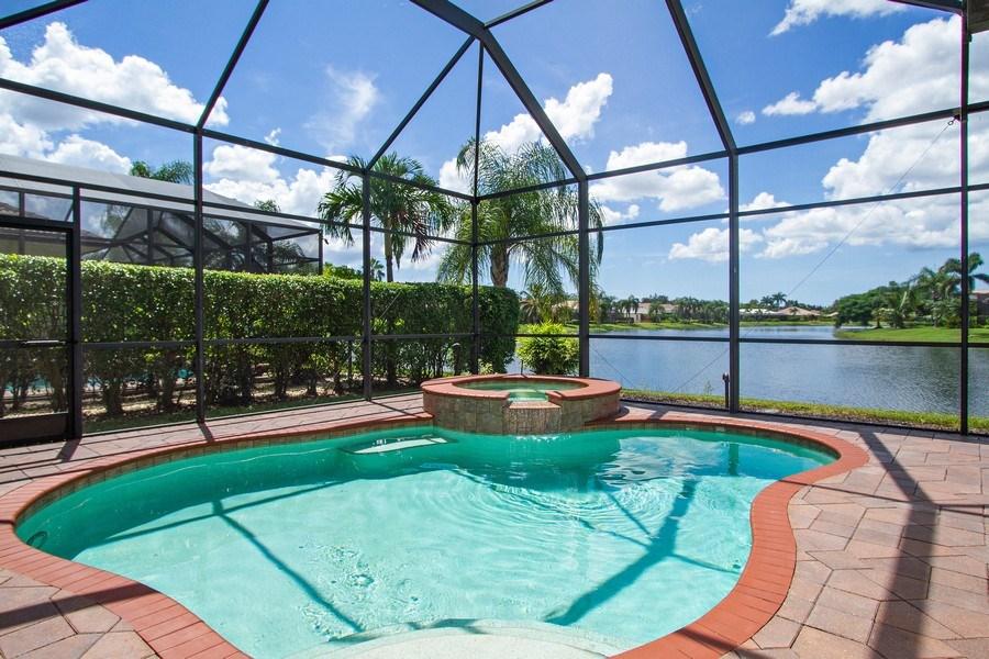 Real Estate Photography - 10691 LONGSHORE WAY EAST, NAPLES, FL, 34119 - Long Lake View