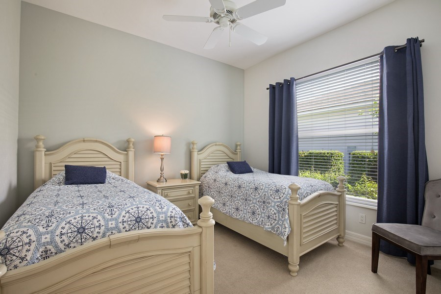 Real Estate Photography - 8998 Lely Island Cir, Naples, FL, 34113 - 2nd Bedroom