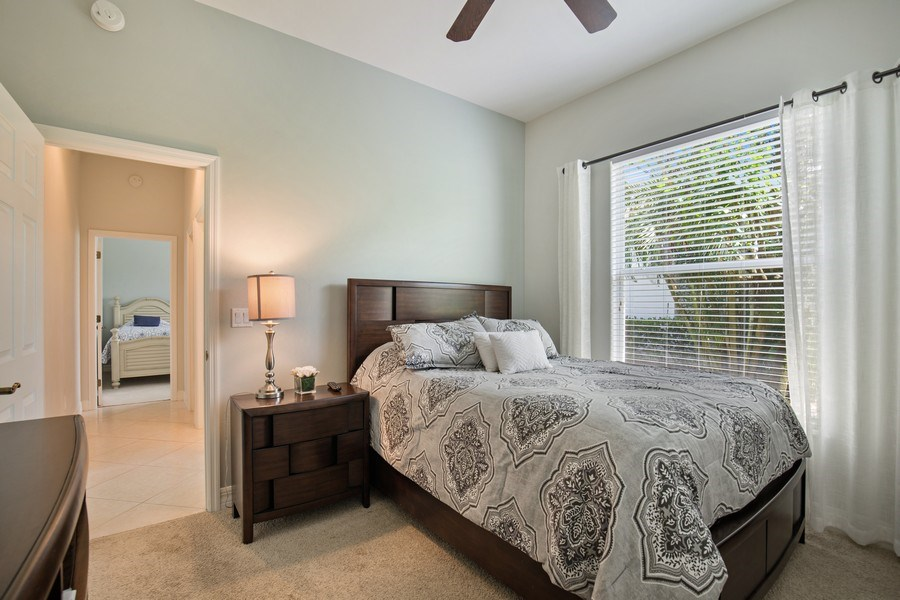 Real Estate Photography - 8998 Lely Island Cir, Naples, FL, 34113 - 3rd Bedroom
