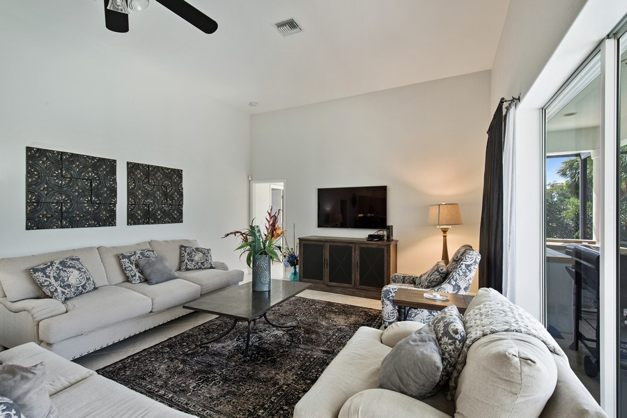 Real Estate Photography - 8998 Lely Island Cir, Naples, FL, 34113 - Living Room