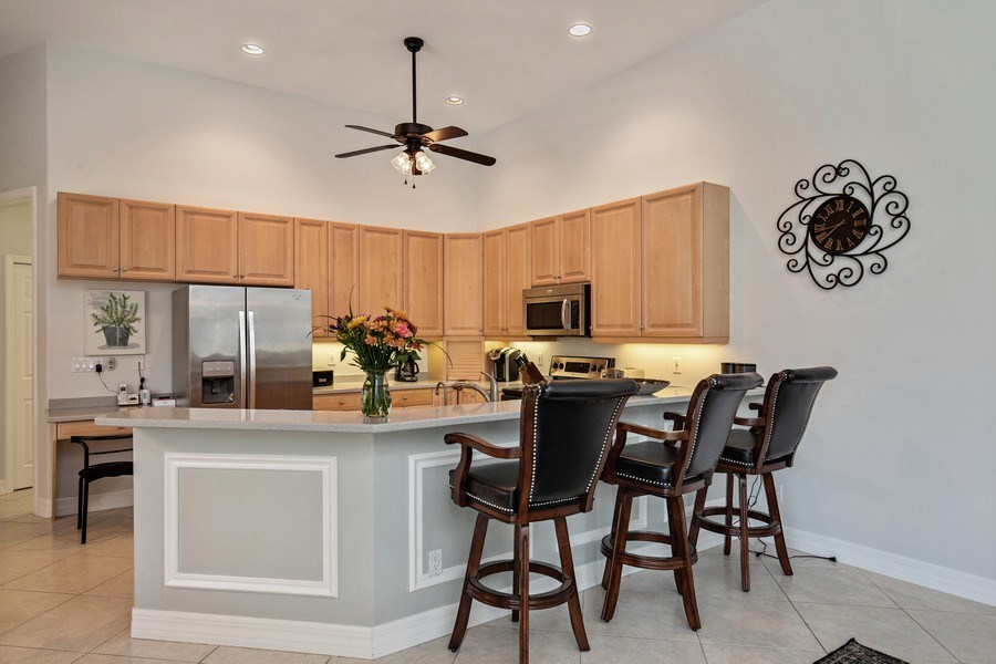 Real Estate Photography - 8998 Lely Island Cir, Naples, FL, 34113 - Kitchen