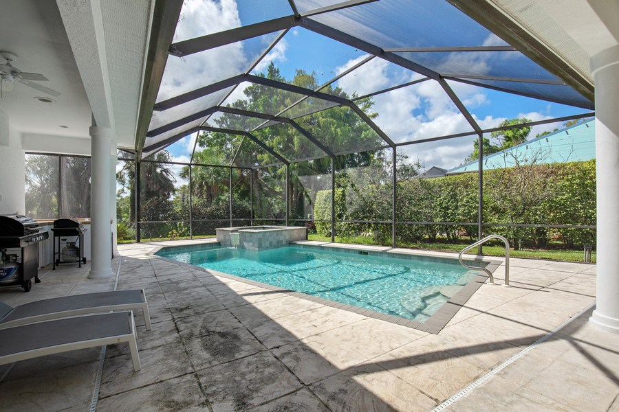 Real Estate Photography - 8998 Lely Island Cir, Naples, FL, 34113 - Pool/Spa