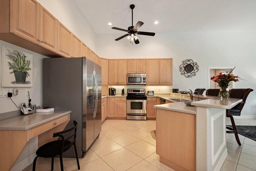 Real Estate Photography - 8998 Lely Island Cir, Naples, FL, 34113 - Kitchen