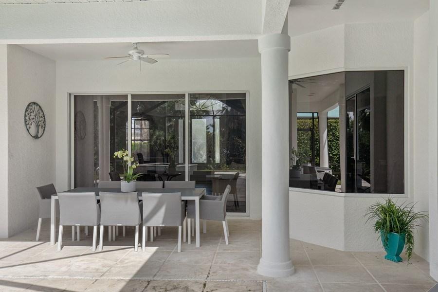 Real Estate Photography - 8998 Lely Island Cir, Naples, FL, 34113 - Lanai