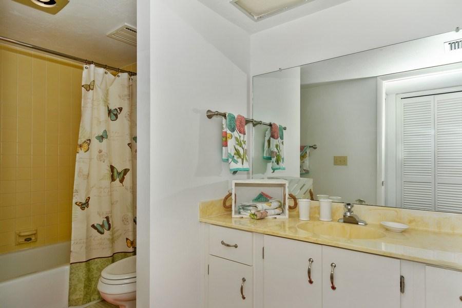 Real Estate Photography - 11030 Gulf Shore Dr, Unit 404, Naples, FL, 34108 - Master Bathroom
