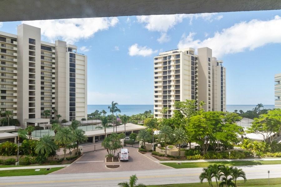 Real Estate Photography - 11030 Gulf Shore Dr, Unit 404, Naples, FL, 34108 - View