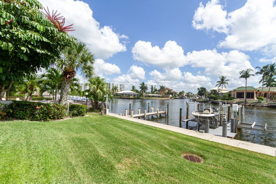 Real Estate Photography - 11030 Gulf Shore Dr, Unit 404, Naples, FL, 34108 - River View