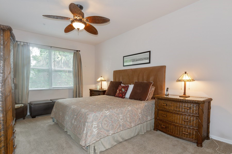 Real Estate Photography - 28105 Mandolin Ct, Unit 213, Bonita Springs, FL, 34135 - Master Bedroom