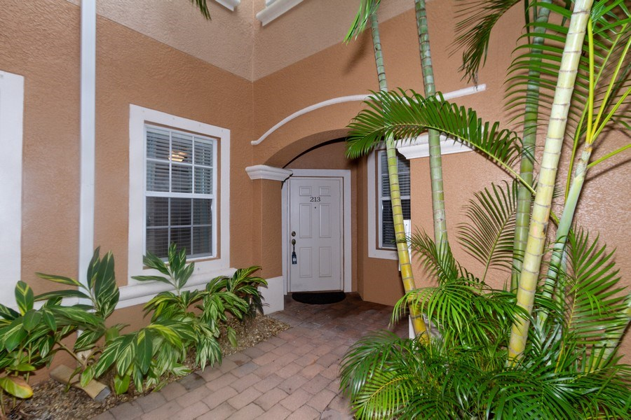 Real Estate Photography - 28105 Mandolin Ct, Unit 213, Bonita Springs, FL, 34135 - Entrance