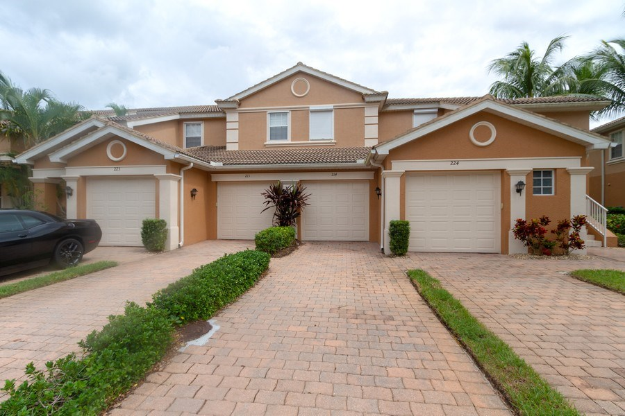 Real Estate Photography - 28105 Mandolin Ct, Unit 213, Bonita Springs, FL, 34135 - Front View